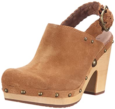 55474303e92 UGG Womens UGG W's Dafni Clogs And Mules Brown Braun (DKC) Size: 5 ...