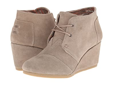 994de376f87c Image Unavailable. Image not available for. Color  TOMS Desert Wedge Boot -  Women s ...