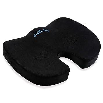 Amazon.com: Coccyx - Cojín para asiento (espuma ...