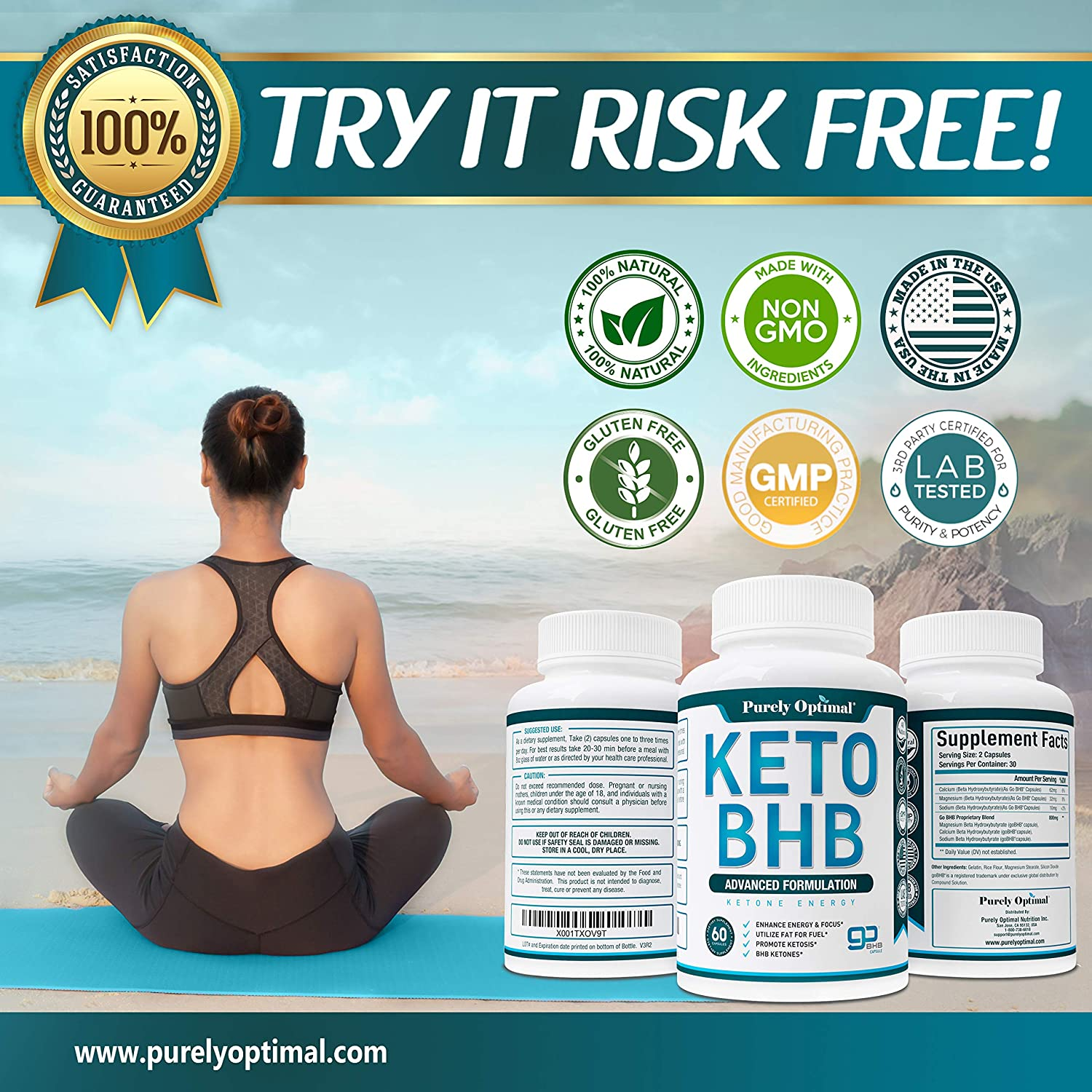 KETO BHB ingredients.