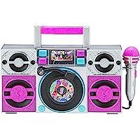 LOL Surprise OMG Remix Karaoke Machine Sing Along Boombox with Real Karaoke Microphone for Kids, Built in Music…