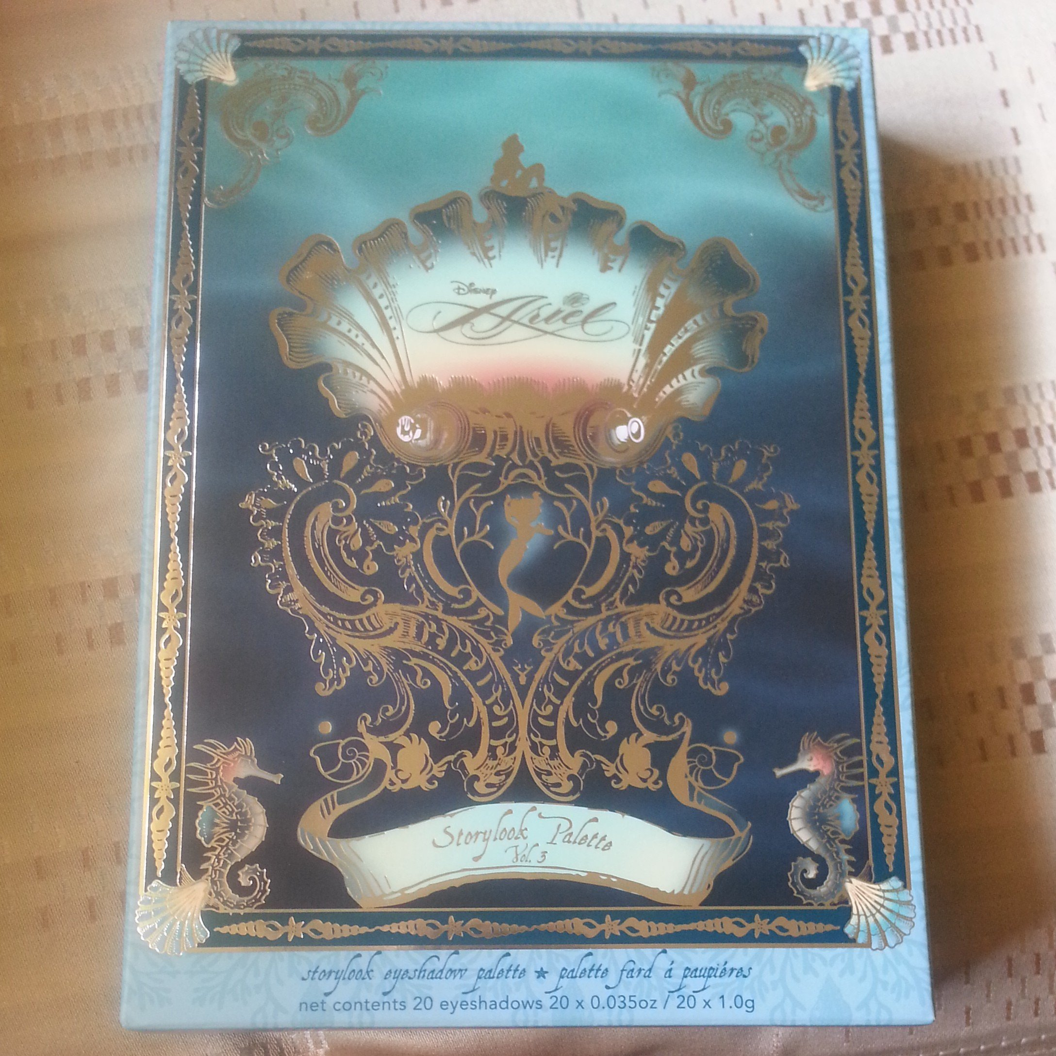 Disney Ariel Collection Storybook Palette Volume 3, Limited-Edition