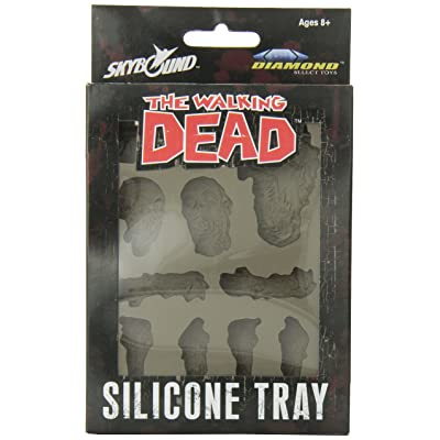 DIAMOND SELECT TOYS The Walking Dead: Silicone Tray: Toys & Games