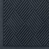 M+A Matting WaterHog Diamond | Commercial-Grade Entrance Mat with Fabric Border – Indoor/Outdoor, Quick Drying, Stain Resis