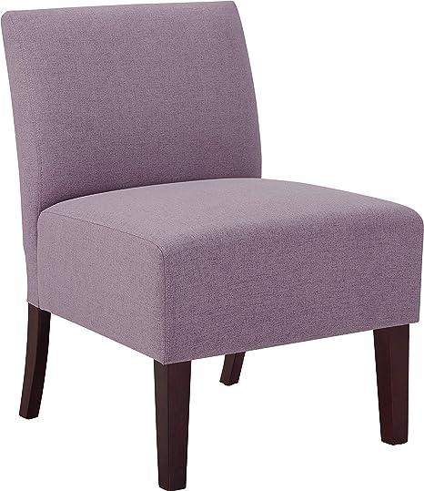 Stupendous Amazon Com Modern Armless Slipper Accent Chair Fabric Ibusinesslaw Wood Chair Design Ideas Ibusinesslaworg