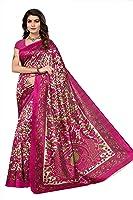 Mrinalika Fashion Women's Art Silk Saree With Blouse Piece (Srjk002_Pink)
