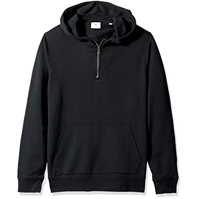 AG Adriano Goldschmied Men's Lyle Quarter Zip Pullover Hoodie: Clothing