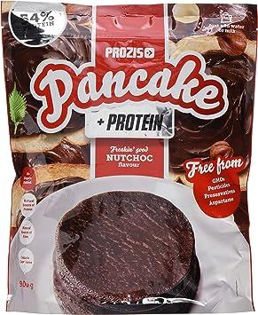 Prozis Pancake + Protein: Tortitas de avena con proteína, NutChoc - 900 g