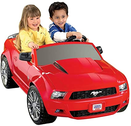 44363d444d009 Amazon.com  Fisher-Price Power Wheels Ford Mustang  Toys   Games