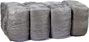 16 Pads Steel Wool, Very Fine No. 0000, Finest Grade, Scouring Pad, for Cast Iron, Dishes, Pots, Pans and for All-Purpose.