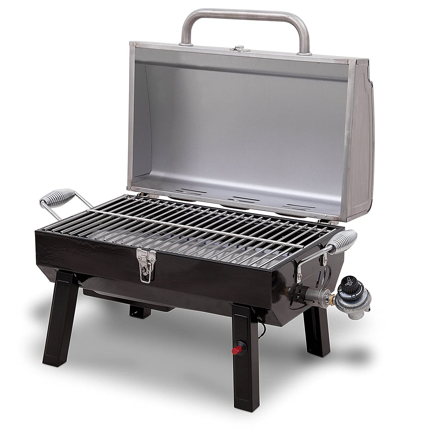 Delicieux Amazon.com: Char Broil Stainless Steel Portable Liquid Propane Gas Grill:  Garden U0026 Outdoor