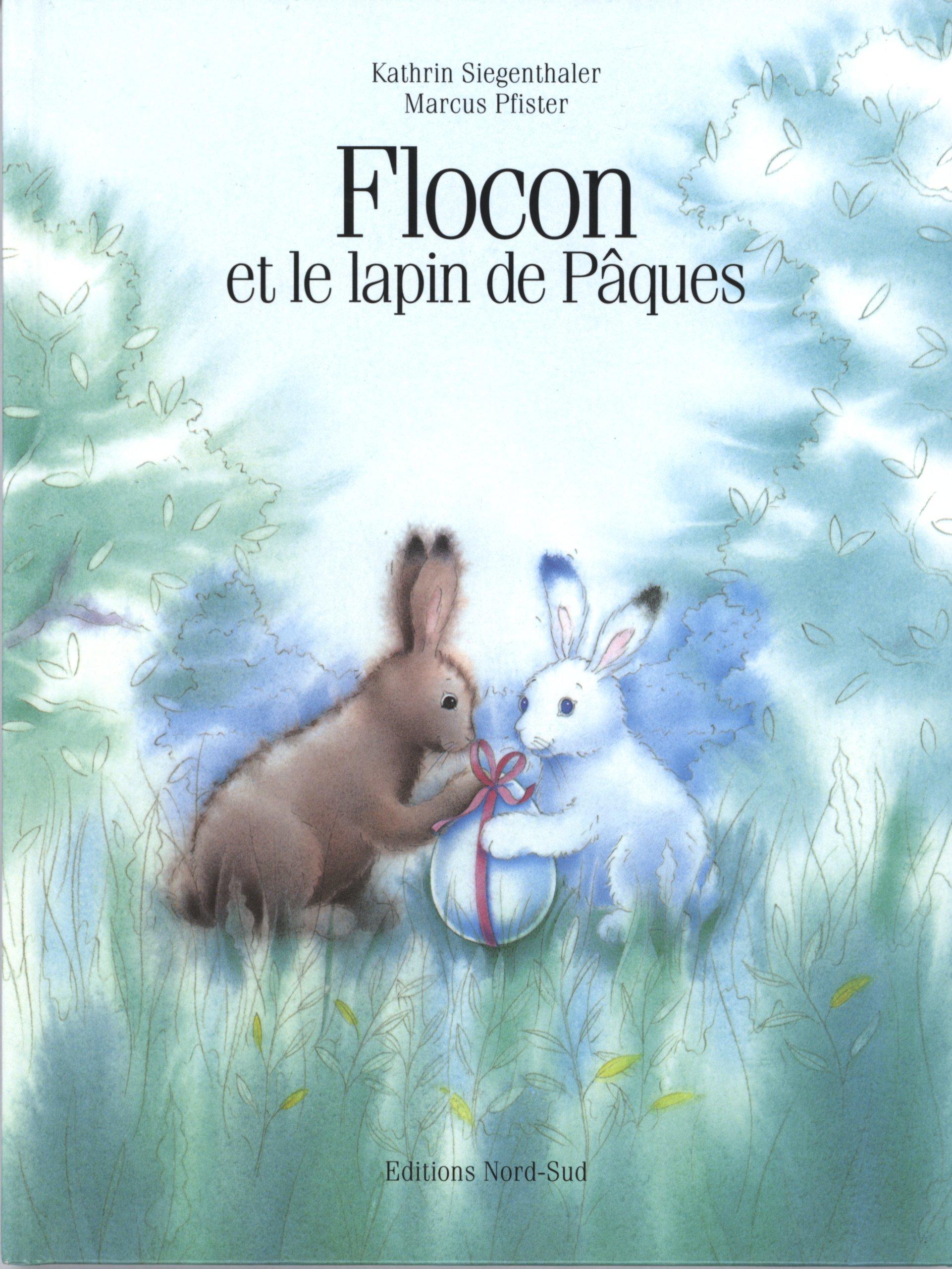 Flocon Lapin Paques Fr Hop Eas Sur French Edition K