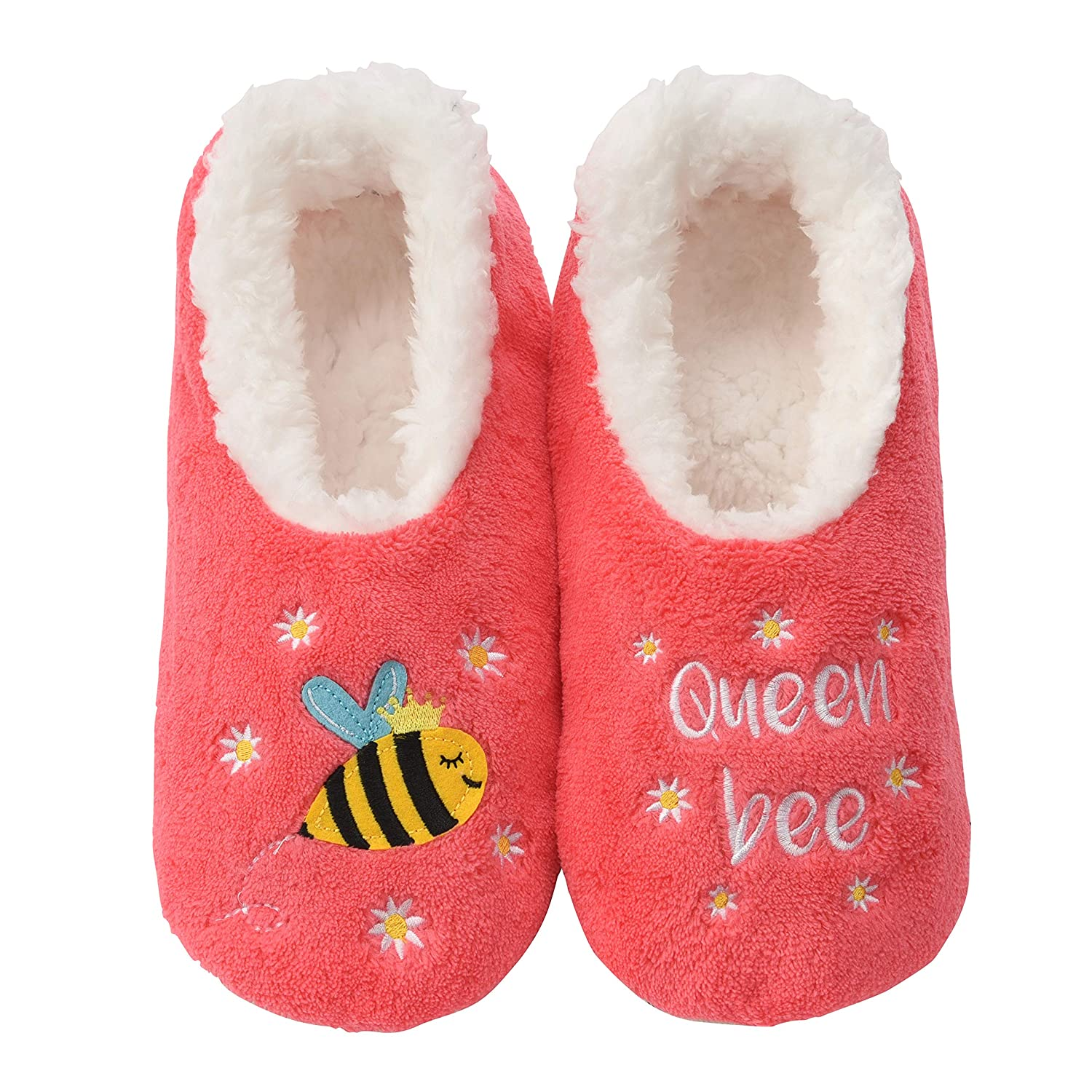 Snoozies Pairables Womens Slippers House Slippers Queen Bee