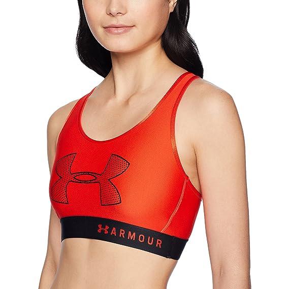 Under Armour Sujetador Deportivo para Mujer: Amazon.es: Ropa y ...