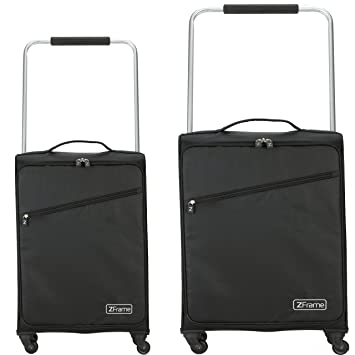 ZFrame SH222837SM2PC Super Lightweight Suitcase Set, 18 & 22\