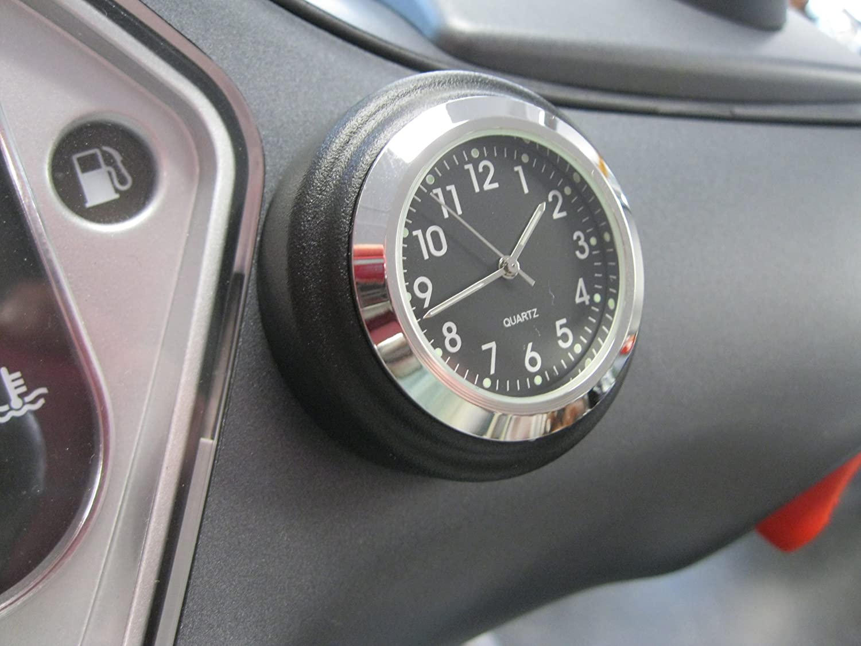 Stick_on Clock, Black