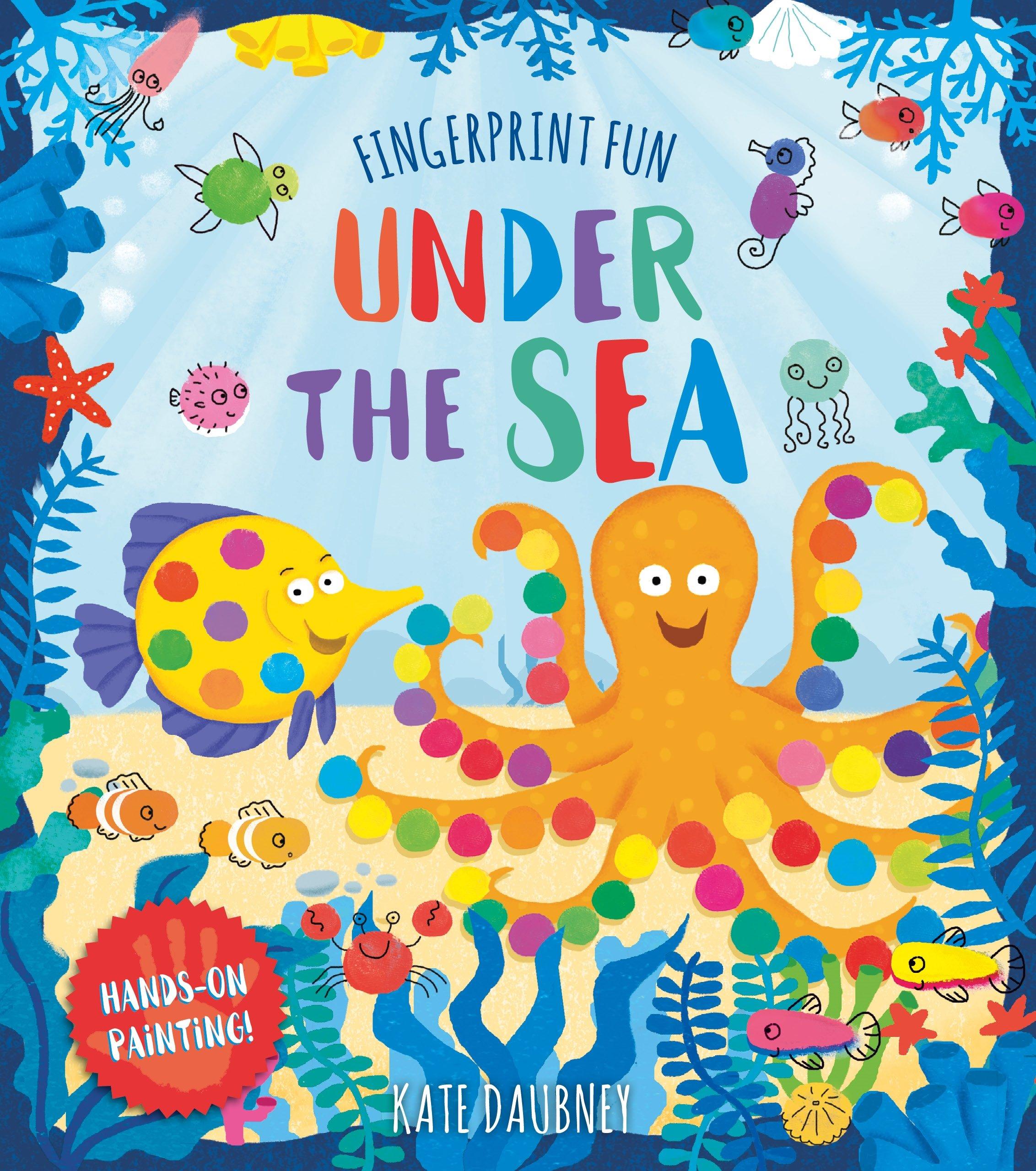 Fingerprint Fun: Under the Sea pdf