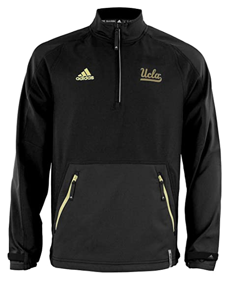 Amazon.com   UCLA Bruins adidas Men s ClimaLite Quarter Zip Pullover ... 39378a5c3