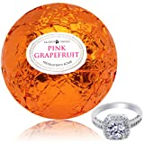 Amazon Price History for:Bath Bomb with Ring Surprise Inside Pink Grapefruit Extra Large 10 oz. Made in USA