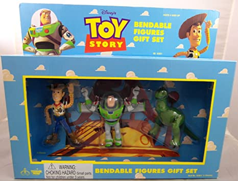 Toy Story Action Figures Set : Amazon toy story bendable figures gift set toys games