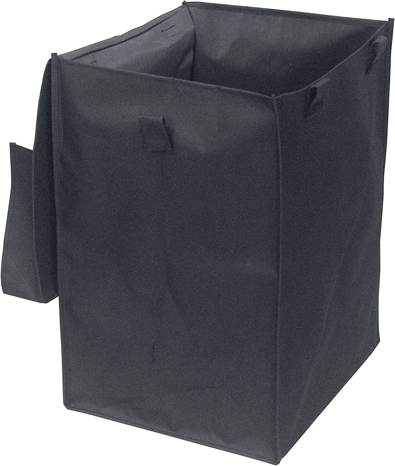 Wellmax WM99504 Nylon Grocery Utility Shopping Cart Liner with Lid, Black, Made Exclusively for WM99024S
