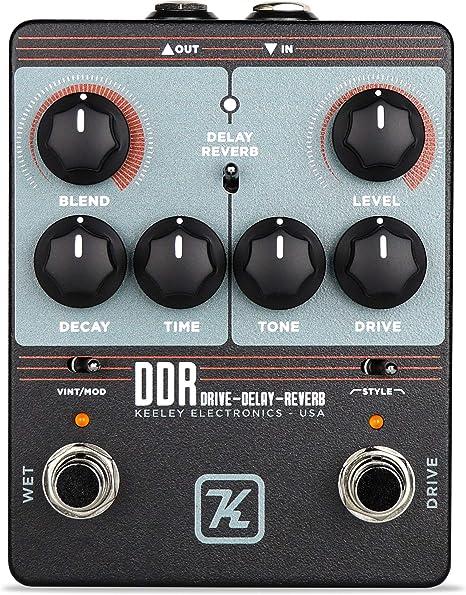 Keeley DDR - Aparato de efectos para guitarra eléctrica: Amazon.es ...