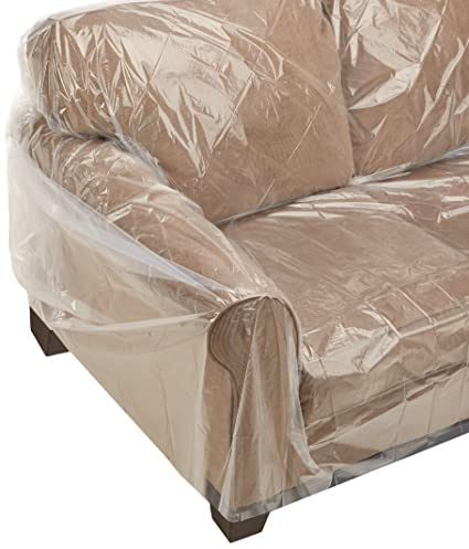 Uboxes Furniture Sofa/Couch Cover (1 Pack) Protects During Moving 152u0026quot;  ...