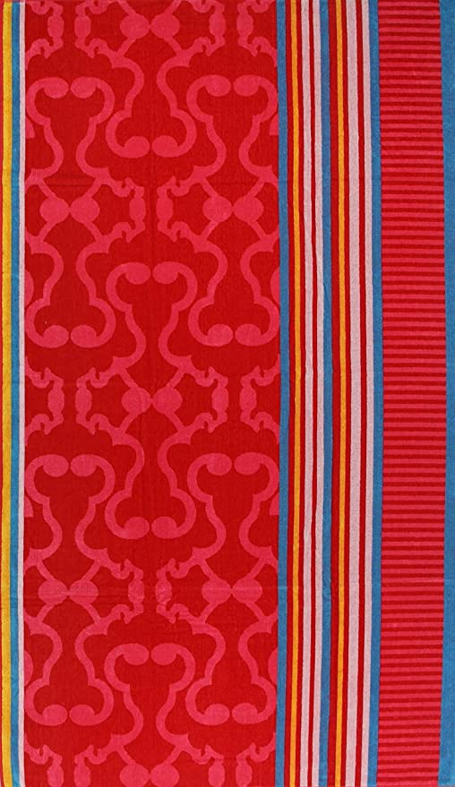 XXL terciopelo Toallas – toalla de playa 180 x 100 cm, algodón, Dessin 1