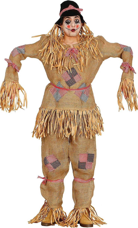 Guirca- Disfraz adulto espantapájaros, Talla 52-54 (80208.0 ...