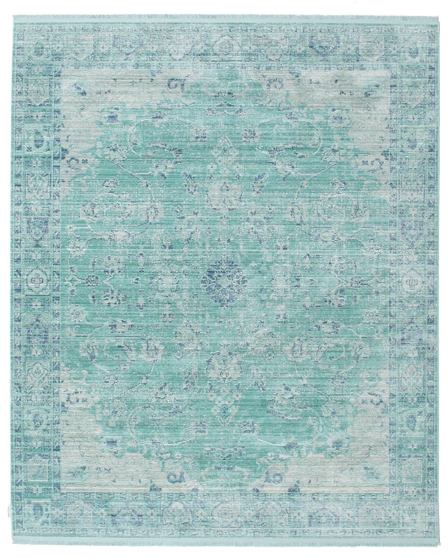 FeelGoodRugs Maharani - Blau Teppich 200x250 Moderner Teppich
