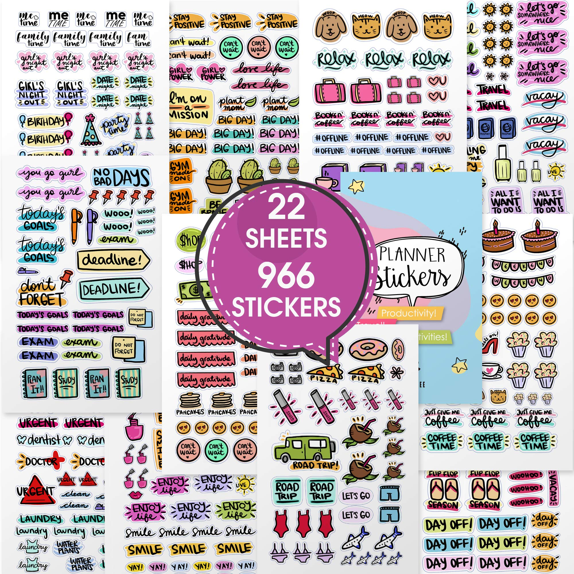 Planner Stickers for every occasion