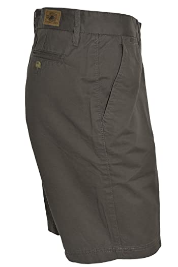 Mens Luxury Vintage Shorts (Charcoal, 32)