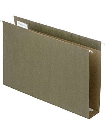 Blue Summit Supplies Extra Capacity Hanging File Folders, Heavy Duty, 2 Expansion