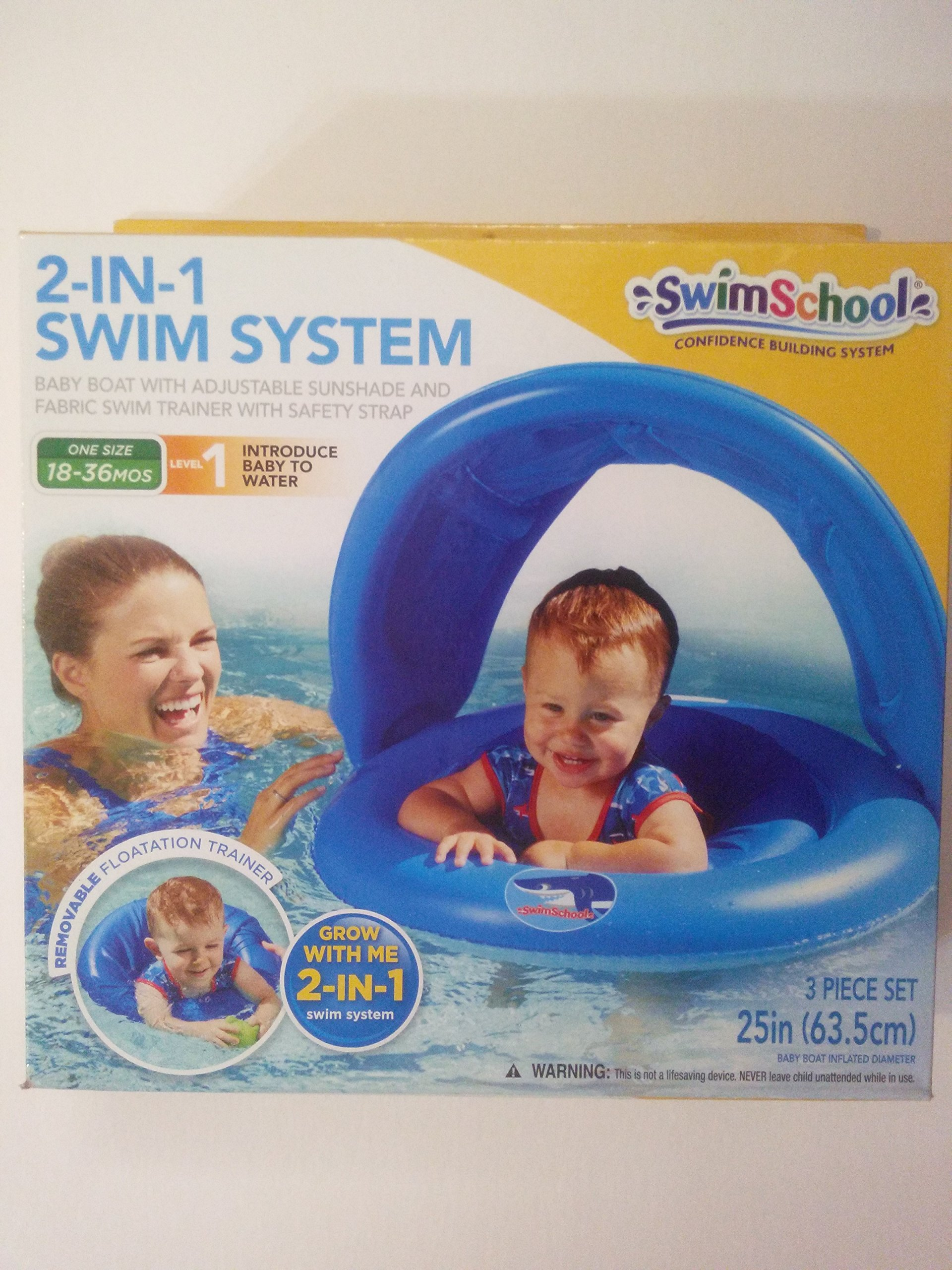 2 in 1 Swim System Level 1 One size 18-36 Months