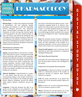 Pharmacology Speedy Study Guides