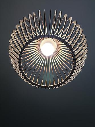 Lámpara de techo de madera/lámpara de madera/pequeños Classic Eko ...