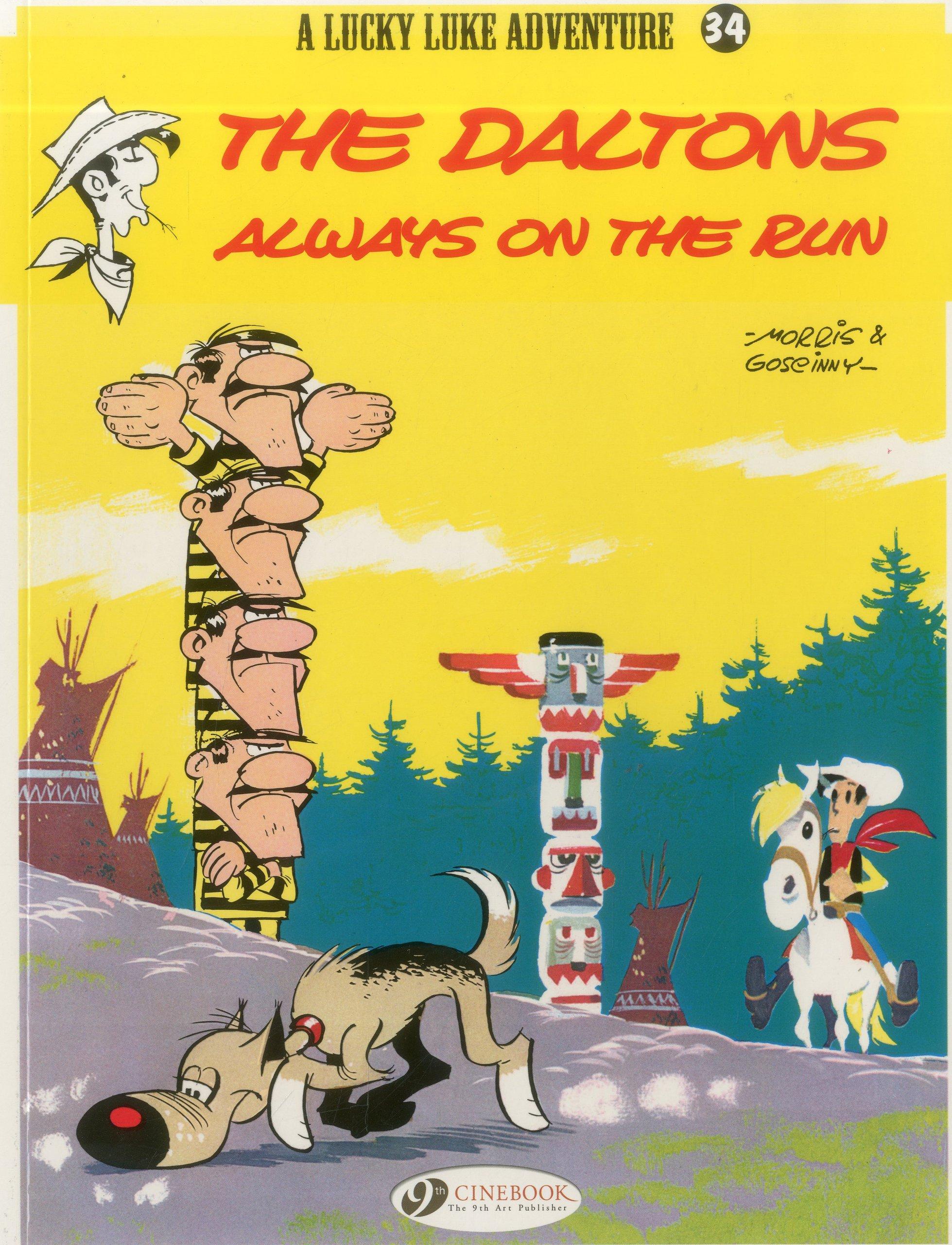 The Daltons Always on the Run (Lucky Luke) pdf
