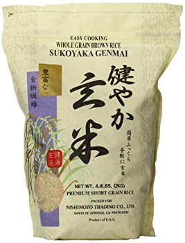 Sukoyaka 4.4-Pound Genmai Brown Rice