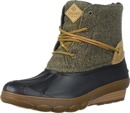 Saltwater Wedge Tide Wool Rain Boot