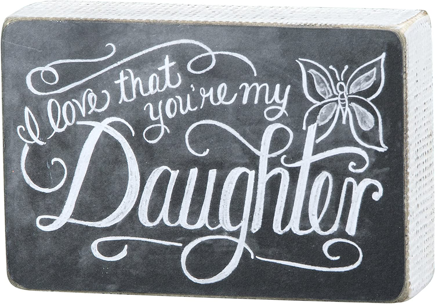 Primitives by Kathy Chalk Art Box Sign, Daughter