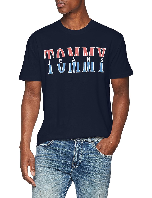 Tommy Jeans Men's TJM Split Logo Tee Vest Tommy_Jeans DM0DM04522