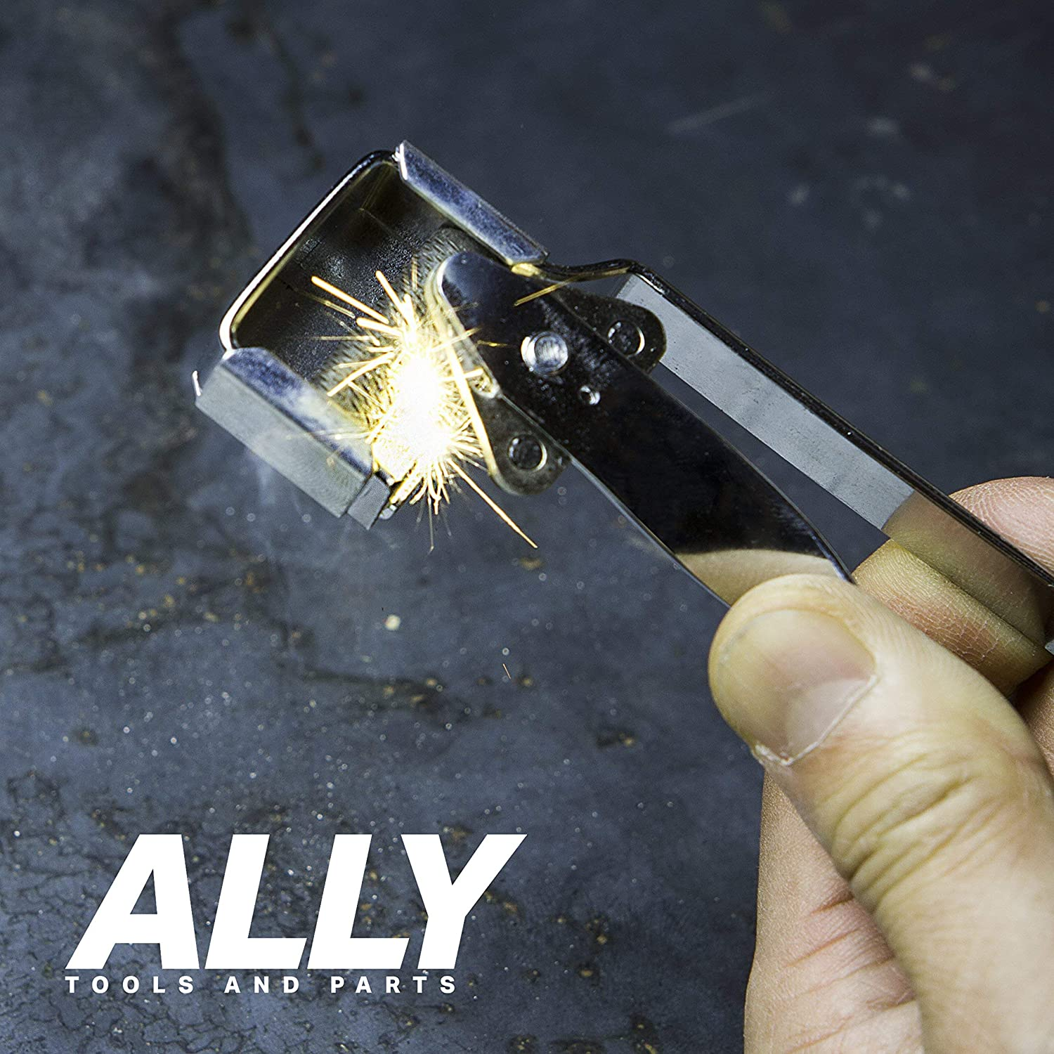ALLY Tools Triple Flint Striker with 21 Rotatable Triple Flints and Kitchen Stoves Long Lasting Triple Flints Perfect For Lighting Welding Torches Bunsen Burners Camping Stoves