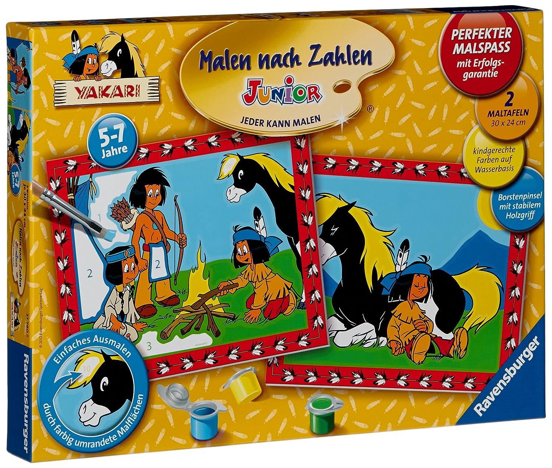 Ravensburger 27760 - Yakari und seine Freunde - Malen nach Zahlen ...