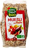 Terres & Céréales Muesli Fruit Bio 500 g - Lot de 3