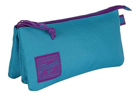 Finocam Espir Estuches, 22 cm, Azul