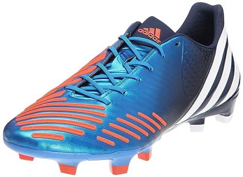 free shipping 1639a 219e2 adidas Predator D5 Trx Fg MiCoach Football Boots Unisex Adult Blue Size   7.5 UK