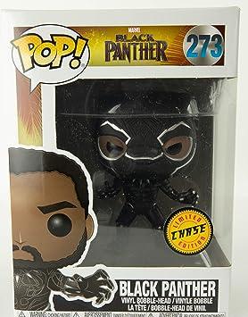 BLACK PANTHER POP 9 CM VINYL BOBBLE HEAD BLACK PANTHER T CHALLA ROBE BLACK