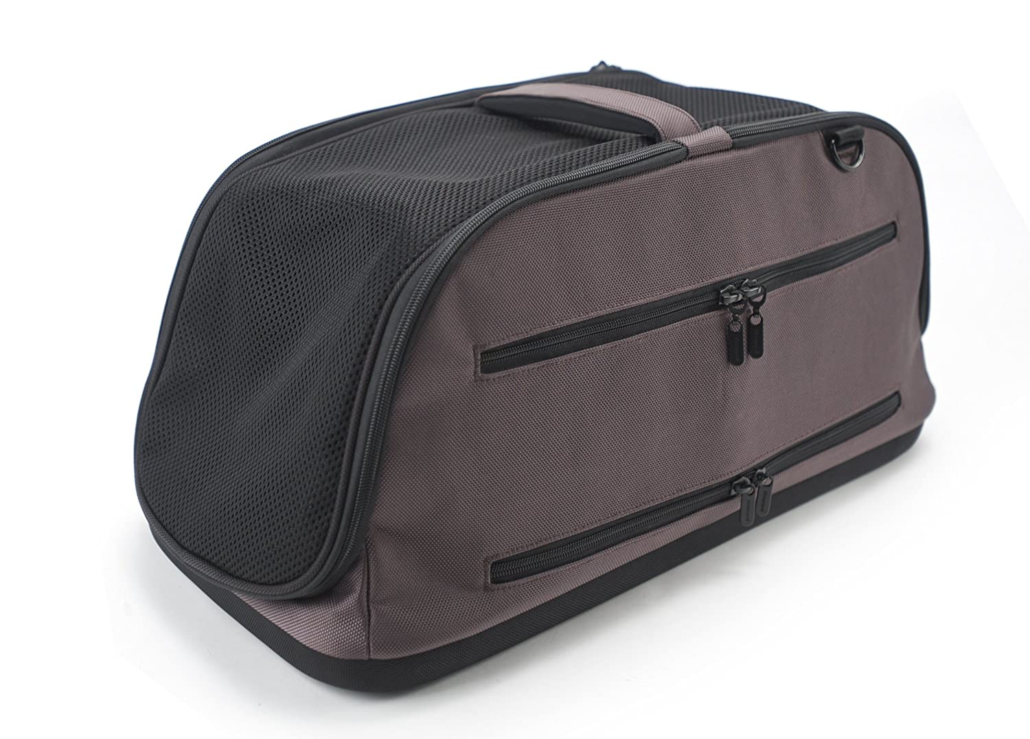 Amazon.com : Sleepypod Air In Cabin Pet Carrier, Dark Chocolate : Soft  Sided Pet Carriers : Pet Supplies