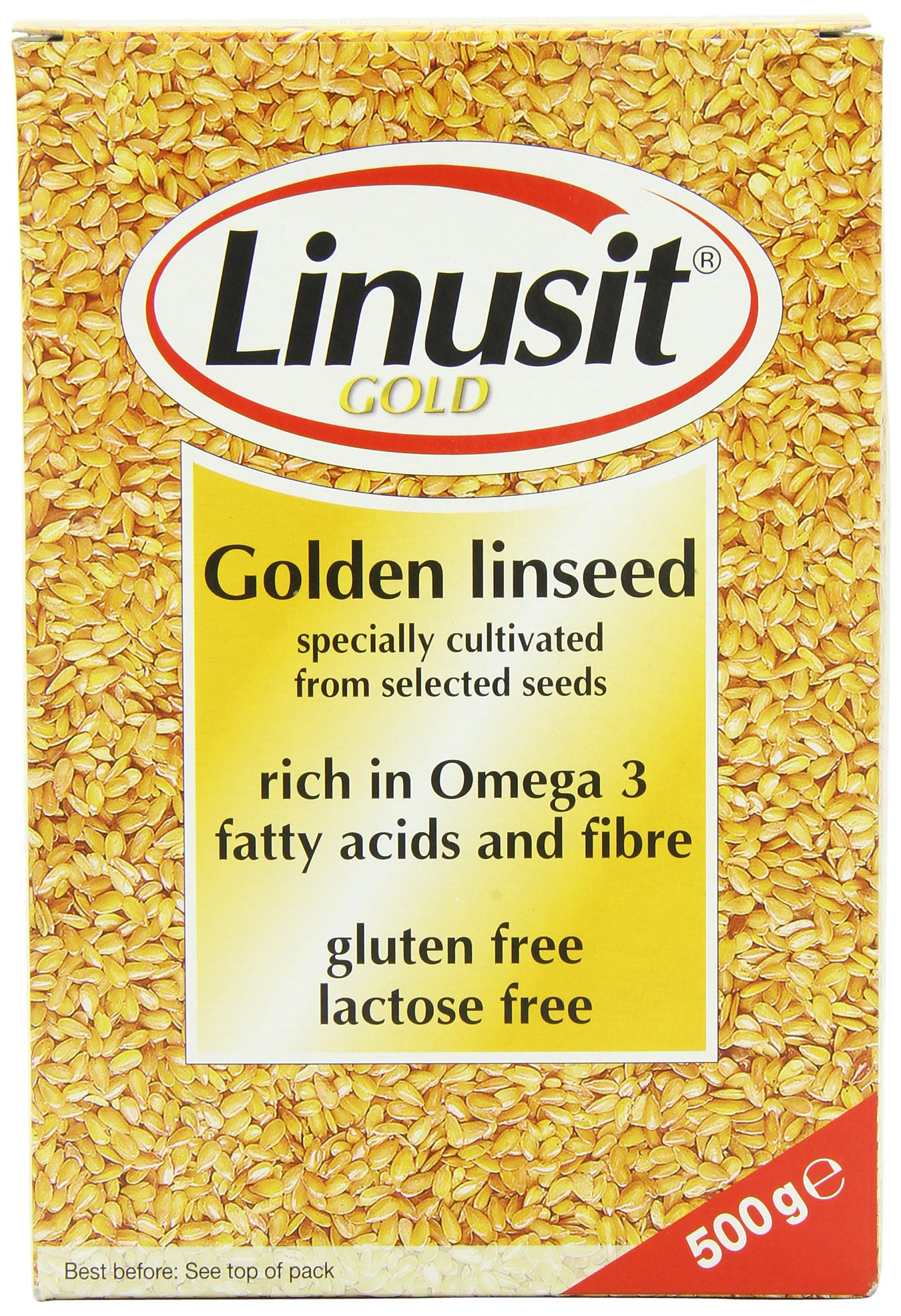 Linusit Gold Golden Linseed 500 g