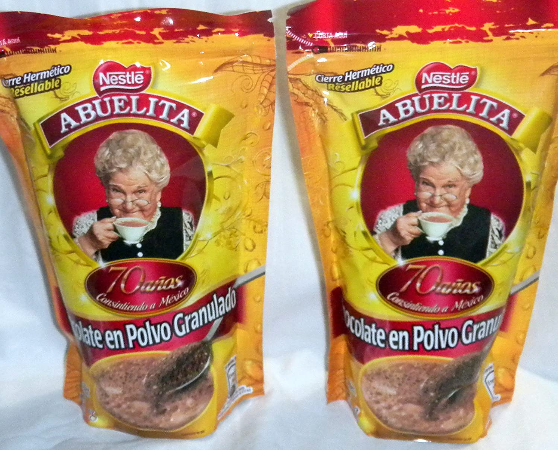 Amazon.com : 2 X Nestle Chocolate Abuelita Granulado Granulated ...